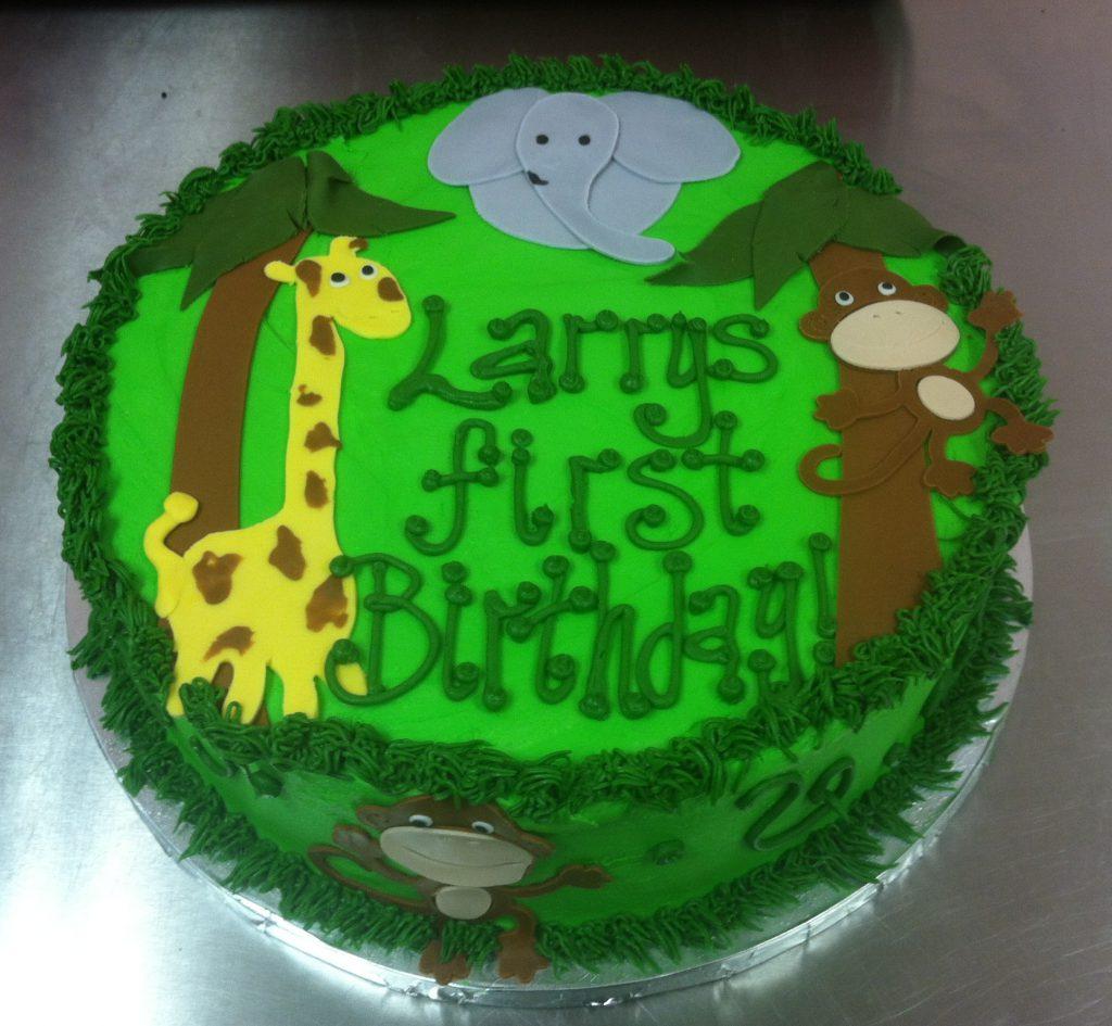 Safari 1st Birthday Alyssas Cakery