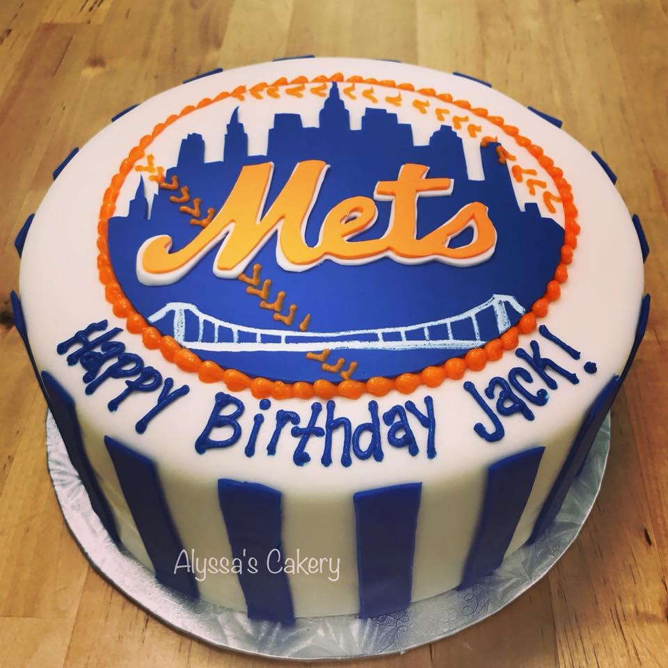 Mets Baseball City Scape